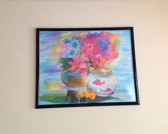 Flower Wall Art Painting