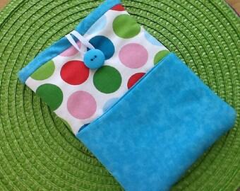 Colorful Polka Dot Kindle Fire / IPad Mini Sleeve