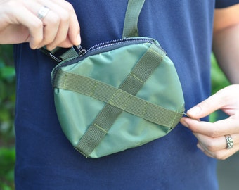 Small bag Military green X collection
