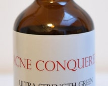 Ultra Strength Green Black Walnut Hull Tincture 2 Oz. by Acne Conquered