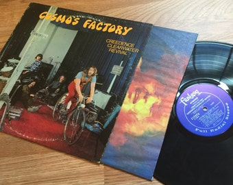 Creedence Clearwater Revival CCR - Cosmos Factory LP Original Vinyl Record w/ Inner Sleeve