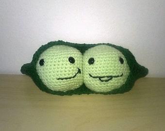 sweet peas peas crochet