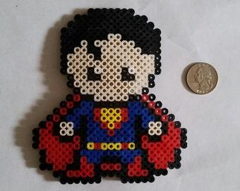 Superman and Logo Perler Beads