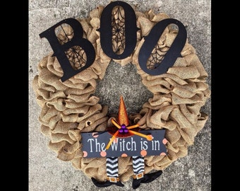 The Witch Boo Wreath
