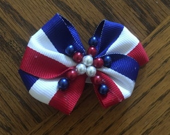 4th of July Hair Clip