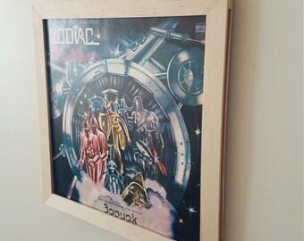 Vinyl wall frame