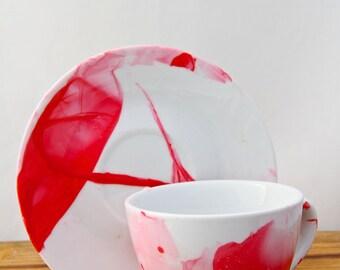 Sleek Blush Coffee/Tea/Drink Tea Cup Set
