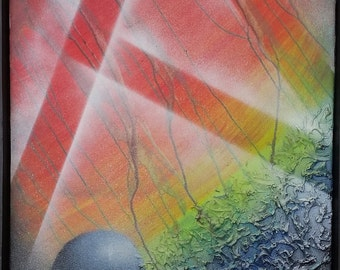 Abstract Painting: Other World