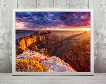 Grand Canyon Print, Instant Download, Photography Gifts, Travel Photography, Home Decor, Wall Art, Travel Prints, Arizona Photography