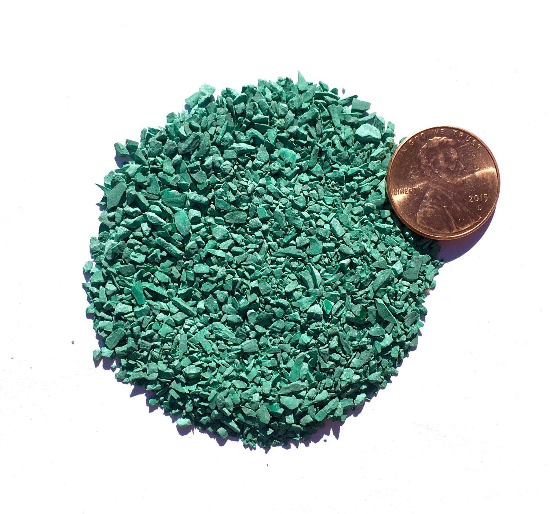 Crushed Gemstone For Inlays : Crushed malachite stone inlay medium ounce