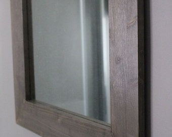 ECO design mirror 70 x 70 hand made