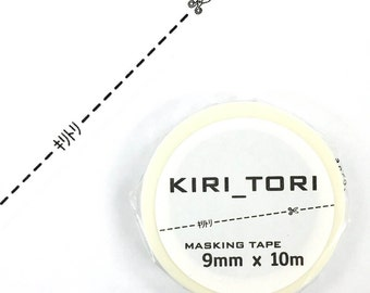 Kiritori Washi Tape /Black