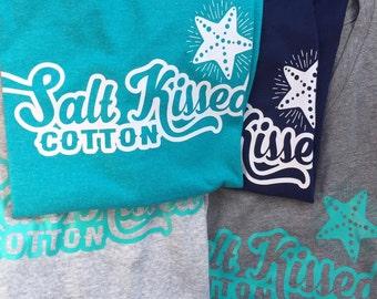Salt Kissed Cotton Logo TShirt