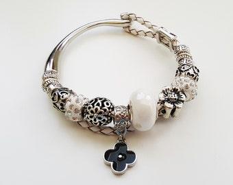 Charm Bracelet | Pandora Bracelet | European Bracelet | Charm Beads Bracelet | Fashion charm bracelet | Gift for her