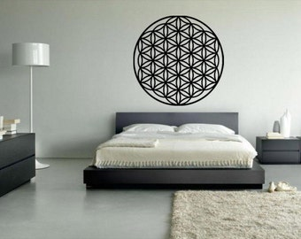 Flower of Life Mandala vinyl wall decal