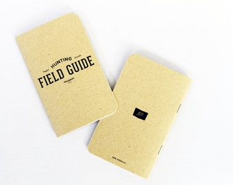 HUNTING Field Guide Journal by JOT. Books -- Field Guide