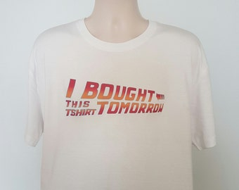 Back to the future inspired comedy T Shirt