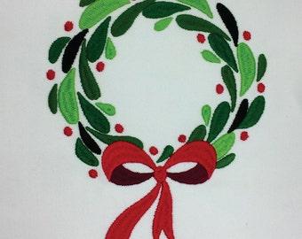 Wreath Embroidery Design (VAR022)