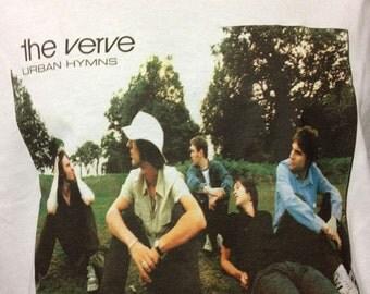 THE VERVE URBAN hymns t shirt oasis richard ashcroft suede brit pop