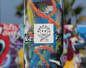 The Official Surfsies Vinyl Sticker