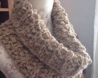 Baby alpaca snood/cowl/scarf