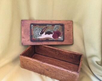 Rabbit Punchneedle Box
