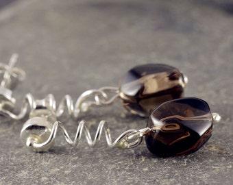 Silver earrings women's earrings jewelry earrings 925 gift SOR114