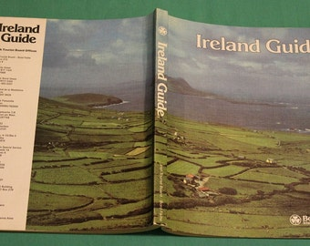 1976 - Ireland Guide Book ~Published Bord Failte ~Irish Tourist Board ~ Printed in Republic of Ireland~ Touring Information ~ Attractions ~