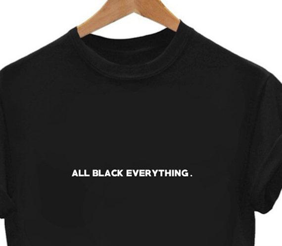 Womens Black Denim Shirt