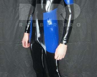 Mens latex catsuit 0.4 mm size - individual