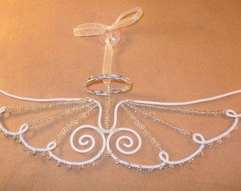 Angel wings suncatcher / window hanger