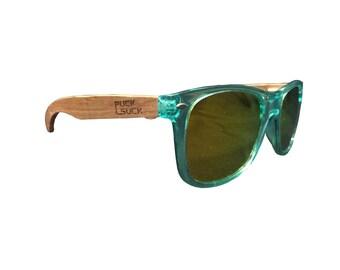BAMBOO Sunglasses TJ - Pucksuck, raccoon, raccoon, crossfit, sunglasses
