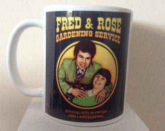Fred and Rose West Offensive Comedy Mug