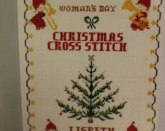 Woman's Day Christmas Cross Stitch Book