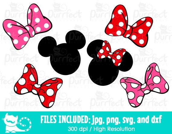 Minnie Mouse Bow Svg Disney Minnie Mouse Bow Svg Disney