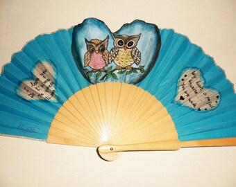 In love owls Fan