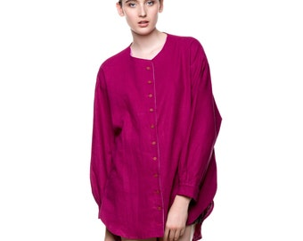 Oversized Pink Shirt