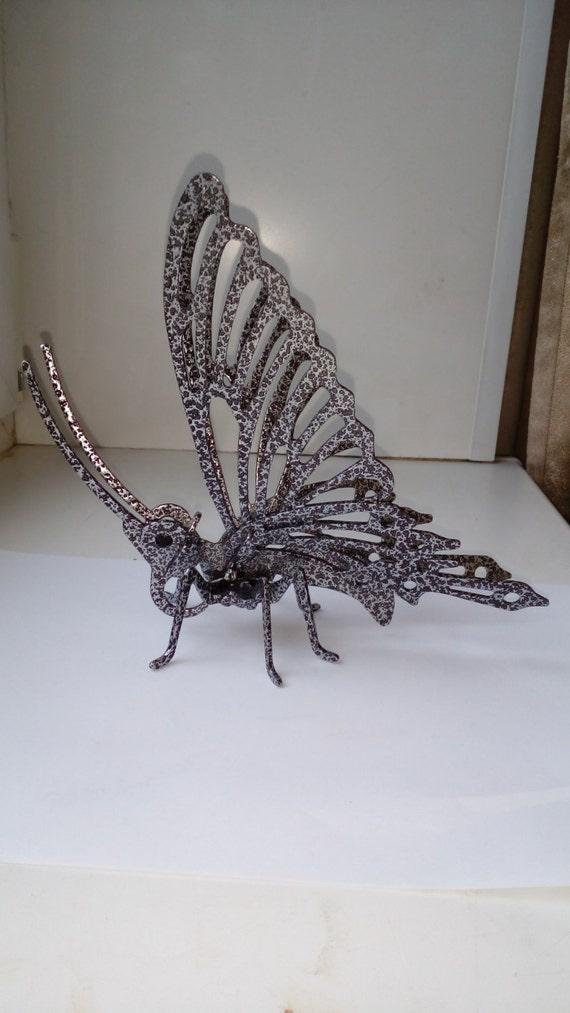 Butterfly metal laser cut