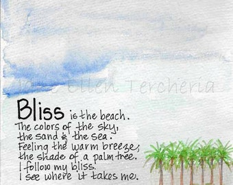 Bliss is...