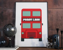 Inspirational quote, quote prints, quote posters,penny lane, art print, Beatles art, poster, typography