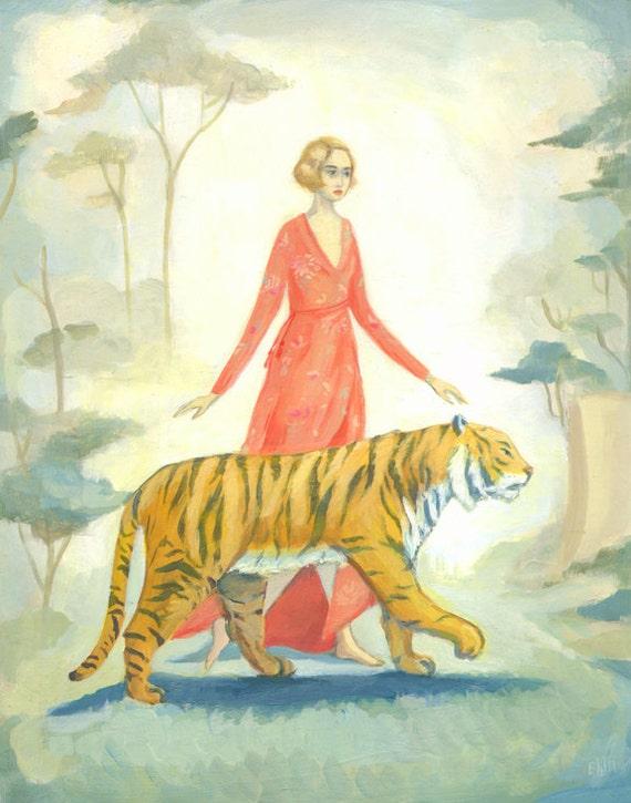 The Tiger's Bride Print 11x14