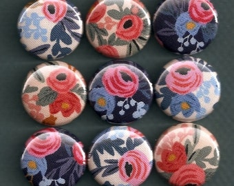 One Inch Magnet Set - Pretty Flowers