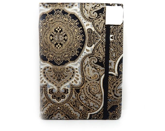 Kindle Paperwhite Cover - Gothic Splendor - black and gold case for kindle - fits Touch and Paper White - eReader cvoer, tech accessory