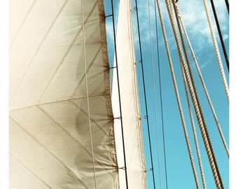 Photograph - Boat Art - Trade Winds - Landscape Photograph - Ocean Art - Sailboat Print - Fine Art Photograph - Alicia Bock - Oversized Art