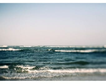 Fine Art Photograph - Beach Photography - Nature Photography - The Waves Break - Florida Art - Landscape - Summer- Fine Art - Oversized