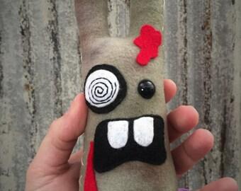 zombie bit bunny monster