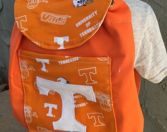 Toddler Sized Backpack -- Tennessee Vols