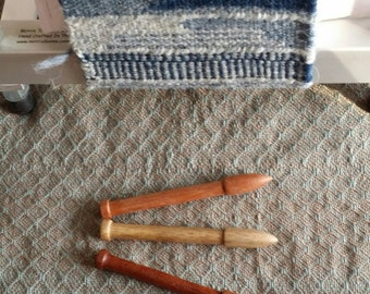 Tapestry Bobbins Hand Turned (Second set of wood types)