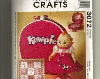 McCall's Kewpie Doll Clothes and Accessories Pattern 3072