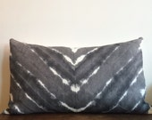READY TO SHIP Hand Dyed Linen Pillow in Moonstone , Anna Joyce,